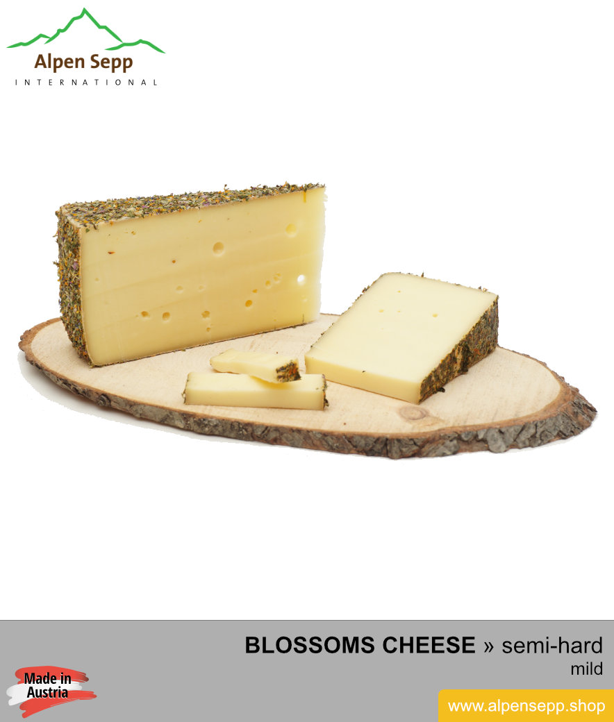Semi soft cheese clipart svg freeuse Artisanal medium-hard blossoms cheese – mild – Blumenkäse svg freeuse