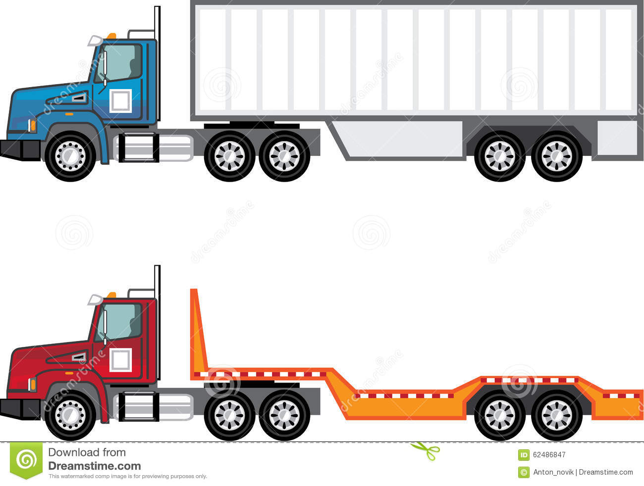 Semi trucks clipart clipart black and white library Trucking Clipart | Free download best Trucking Clipart on ... clipart black and white library