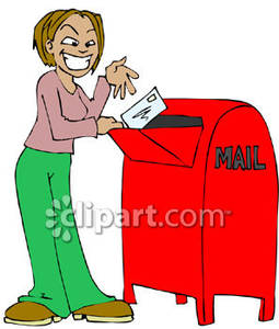 Send a letter clipart clip art free Mail Letter Cliparts | Free download best Mail Letter ... clip art free