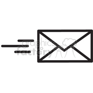 Send clipart black and white graphic transparent send email icon vector . Royalty-free icon # 398566 graphic transparent