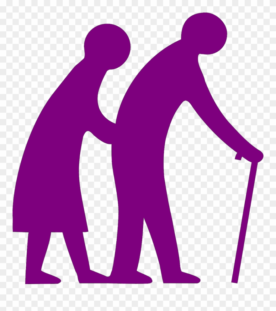 Senior citizen pictures clipart png black and white stock Poor Clipart Poor Health - World Senior Citizen Day Logo ... png black and white stock