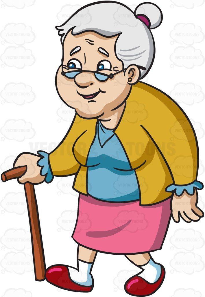 Senior citizen pictures clipart clip art free stock A smiling female senior citizen with glasses #cartoon ... clip art free stock