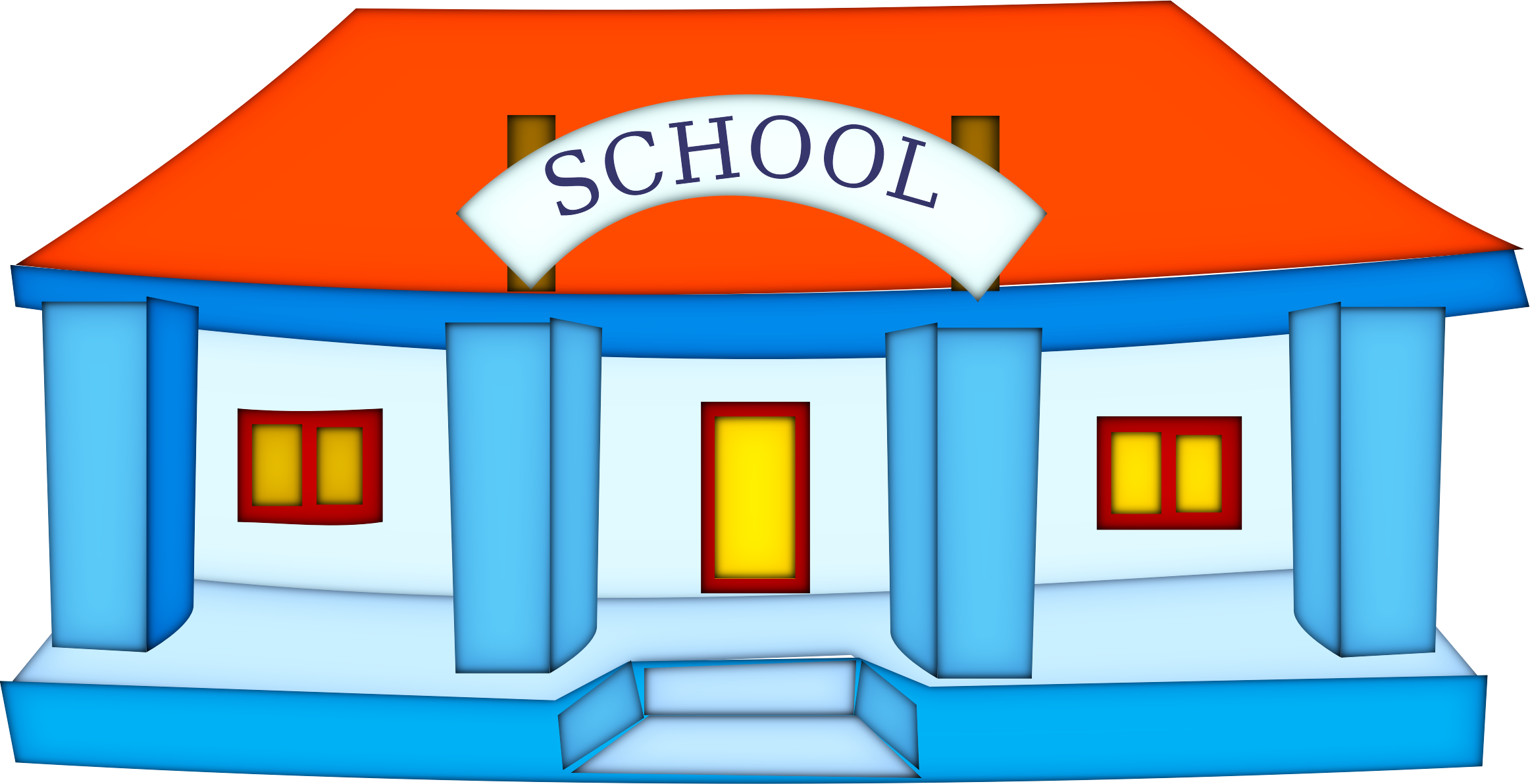 Senior high school clipart clip download school-building by @netalloy, real estate clipart, on @openclipart ... clip download