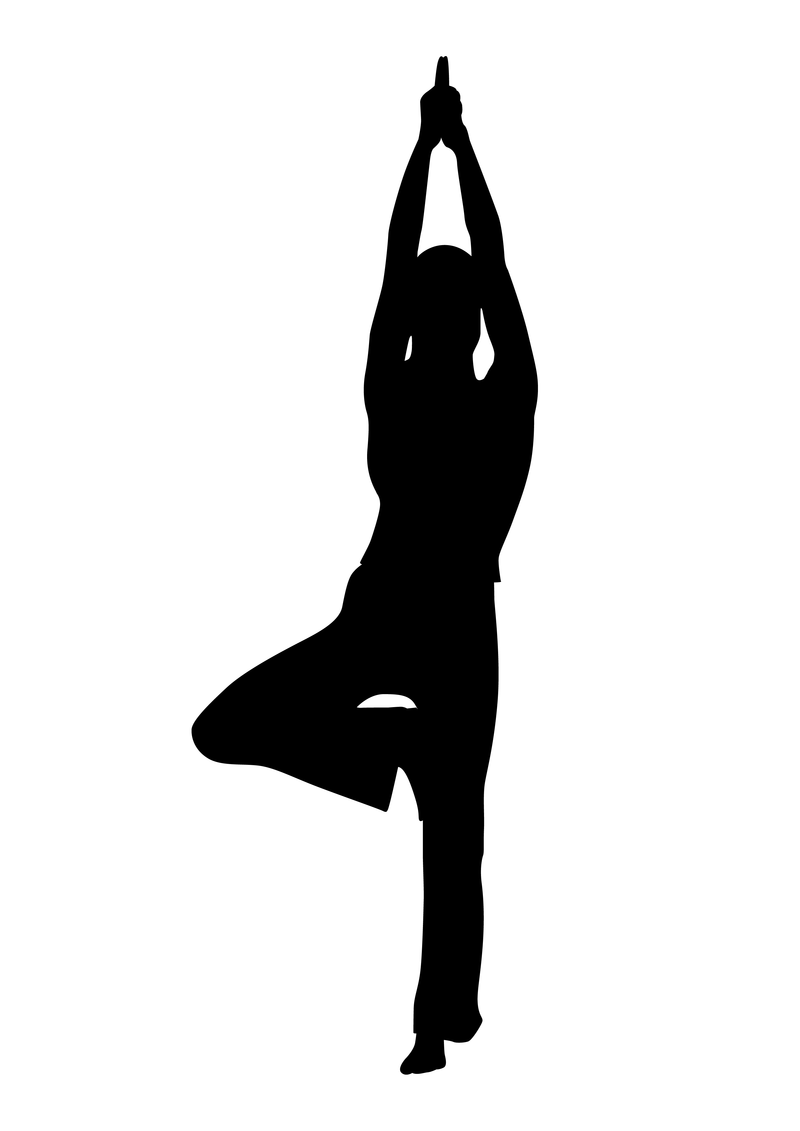 Senior yoga clipart clipart royalty free stock Download Free png Senior Yoga Poses Clipart #1 - DLPNG.com clipart royalty free stock