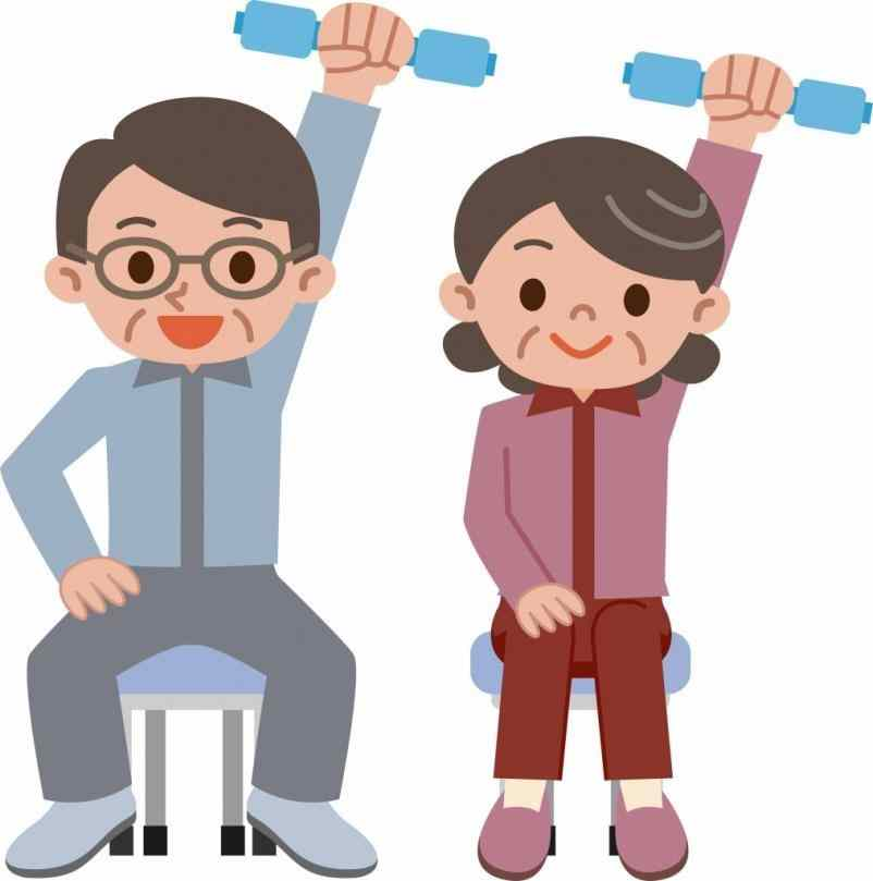 Senior yoga clipart png library stock Seniors Clipart | Free download best Seniors Clipart on ... png library stock