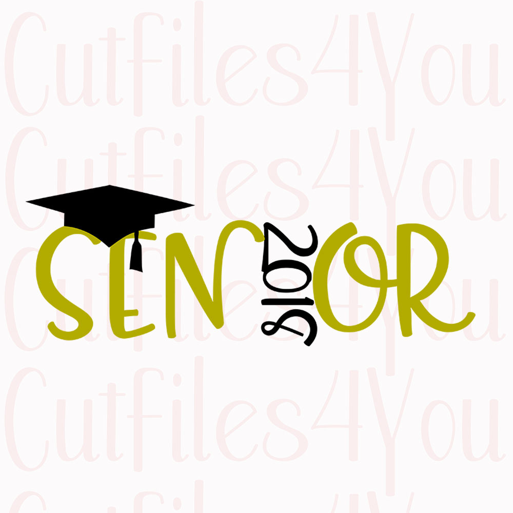 Seniors 2018 clipart vector transparent Senior Graduation Clipart vector transparent