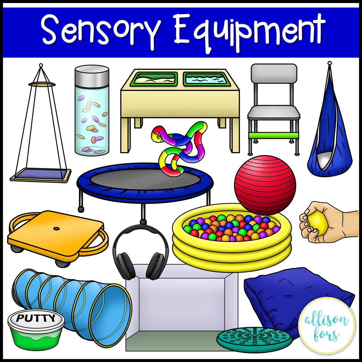 Sensory clipart image transparent library Sensory Room Equipment Clip Art | Allison Fors Educational ... image transparent library