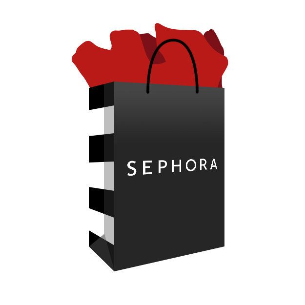 Sephora bag clipart vector 12 Emojis All Makeup Lovers Wish They Had   Beauty, Nails ... vector