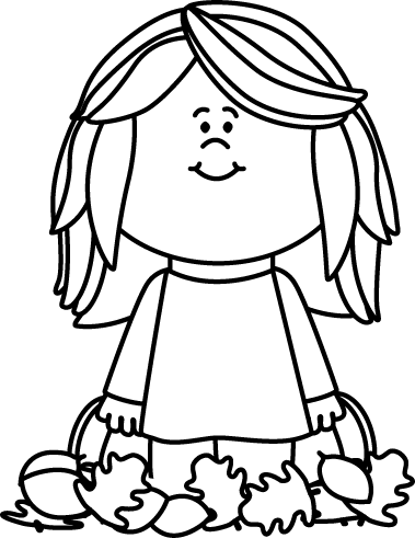 Line drawing of a woman falling clipart black and white free September Clipart Black And White | Free download best ... free