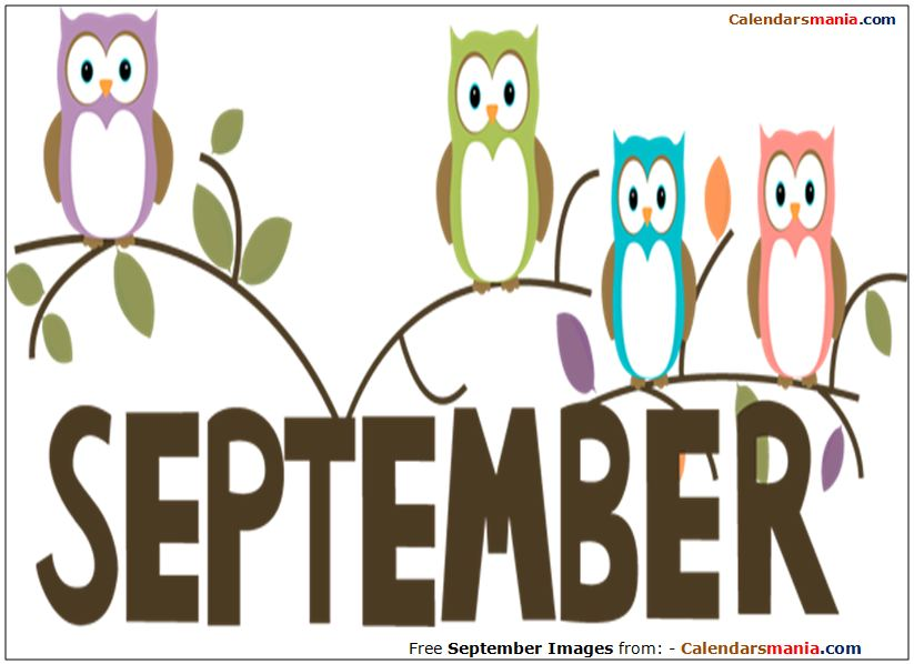 September clipart images vector royalty free library Welcome September Clipart vector royalty free library