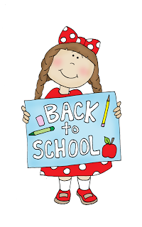 September kids clipart school jpg black and white Back to School Girl (Free Dearie Dolls Digi Stamps ... jpg black and white
