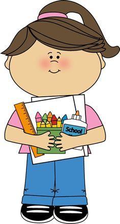 September kids clipart school jpg transparent library School/Kids Craft Ideas ♥ on Pinterest | Teaching | Clip ... jpg transparent library