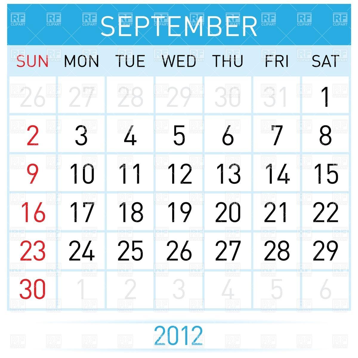 September month calendar clipart clip art free September month calendar clipart - ClipartFox clip art free