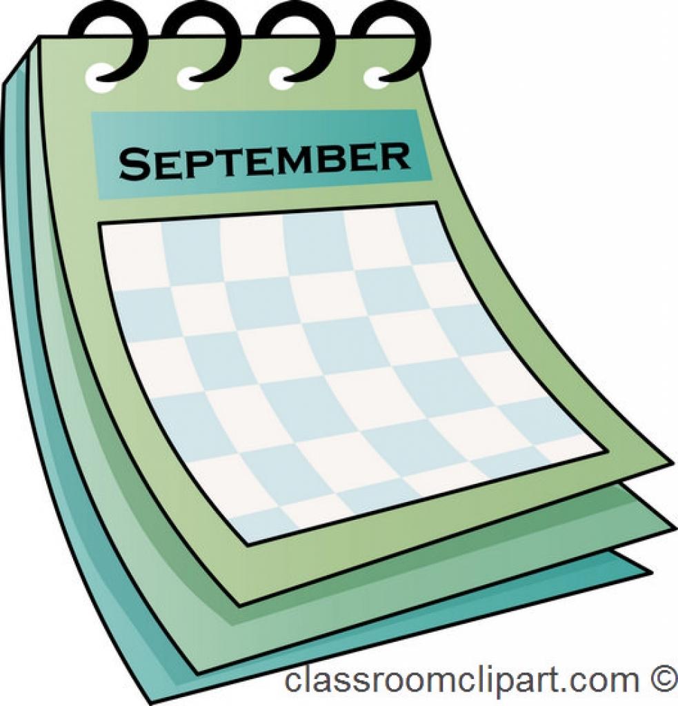 September month calendar clipart clip art black and white Calendar September Month Clip Art – Clipart Free Download clip art black and white