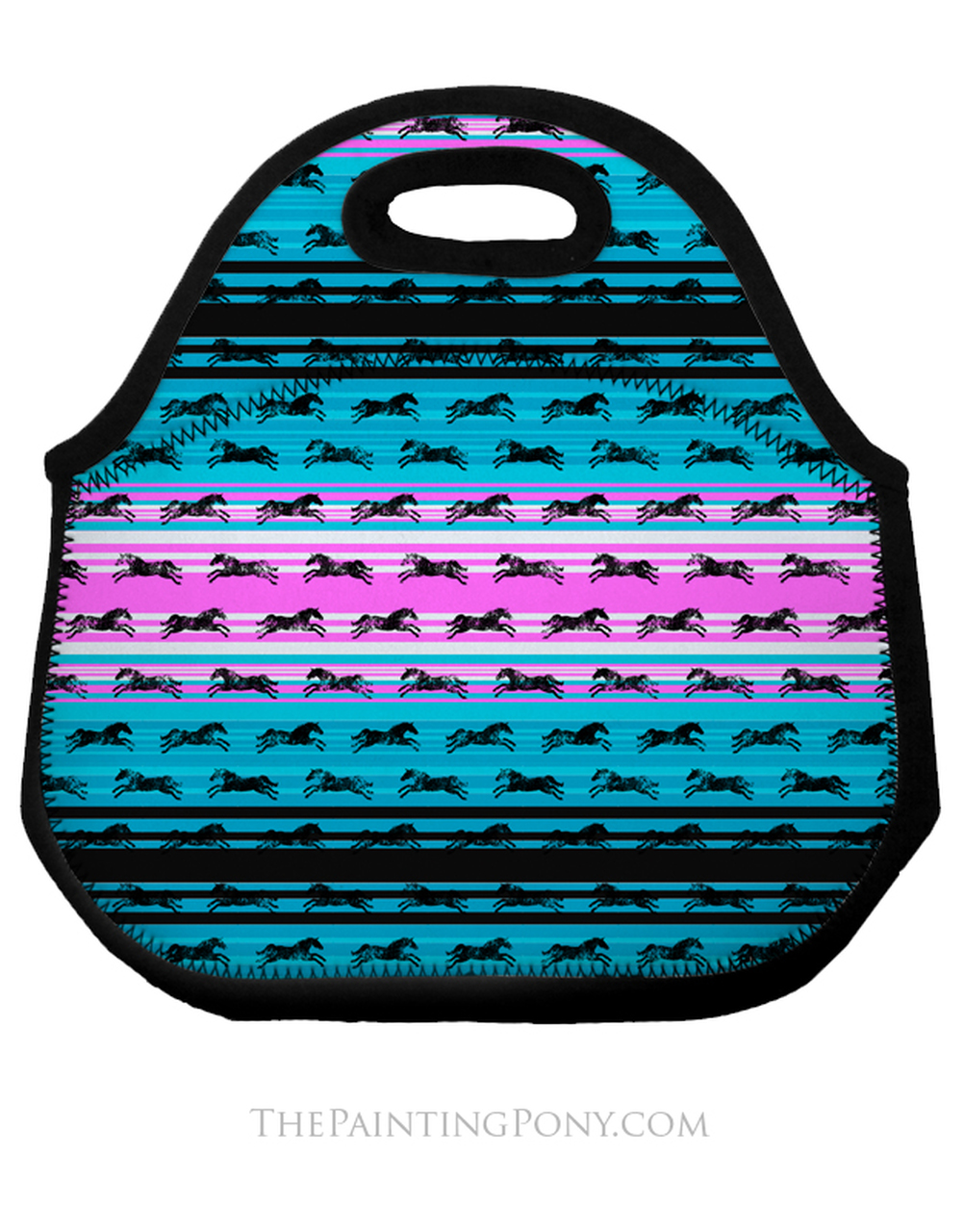 Serape horse pictures clipart jpg library library Serape Galloping Horses Pattern Equestrian Lunch Tote Bag jpg library library