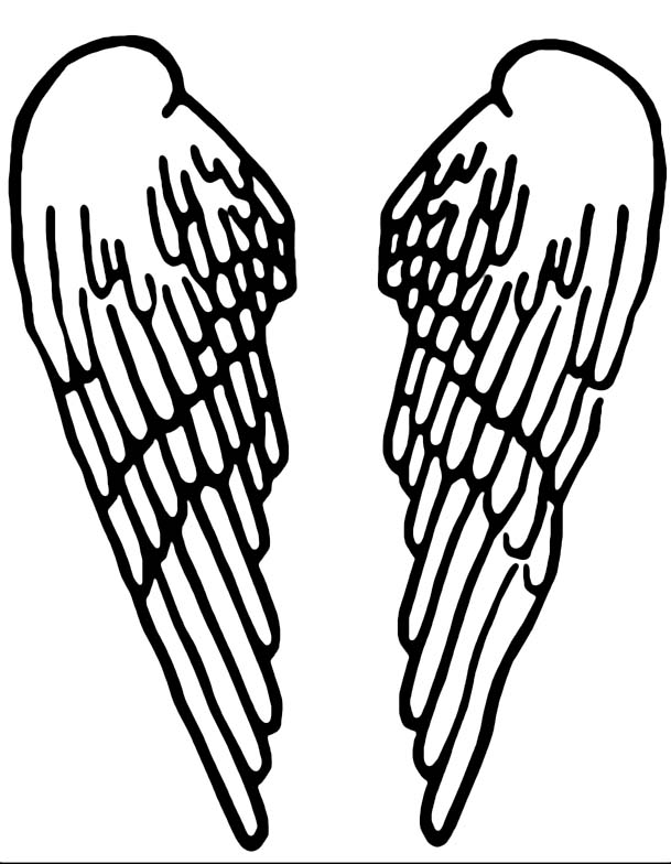 Seraph clipart svg royalty free Seraph wing shirt.. NOW WITH WINGS STENCIL - IMAGE ... svg royalty free
