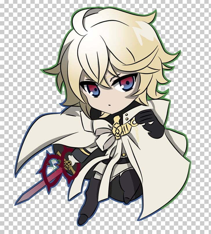 Seraph clipart picture royalty free Anime Seraph Of The End Chibi Art PNG, Clipart, Animated ... picture royalty free