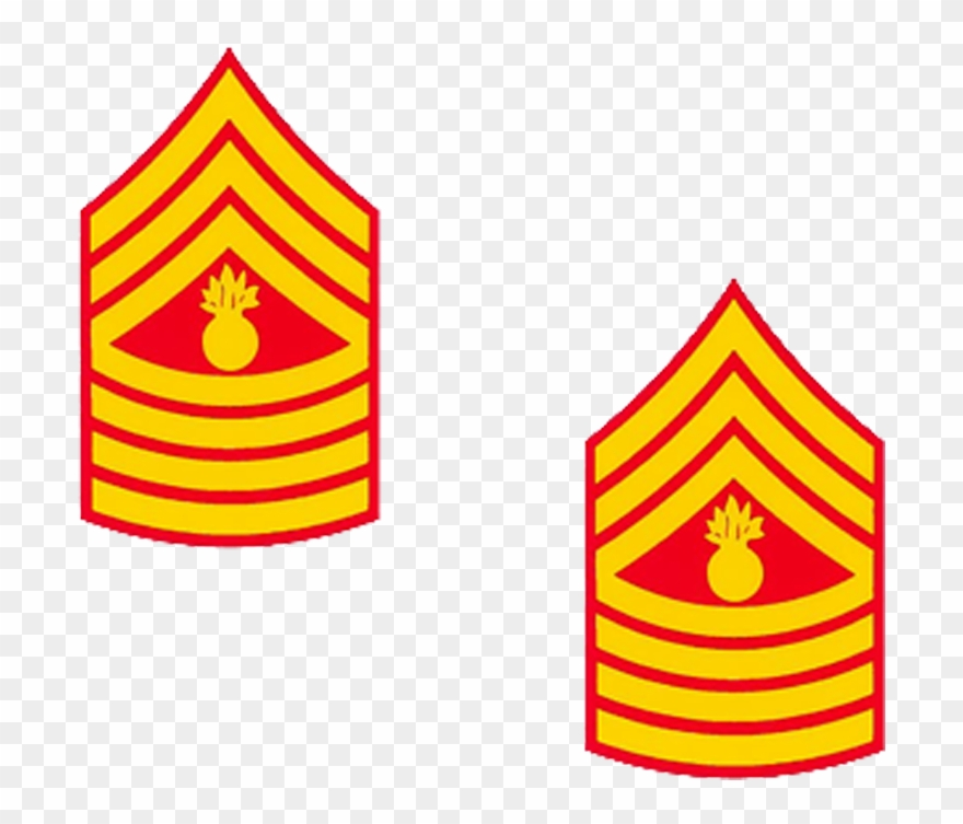 Sergeant major clipart picture royalty free stock Master Gunnery Sergeant Rank Clipart - Clipart Png Download ... picture royalty free stock