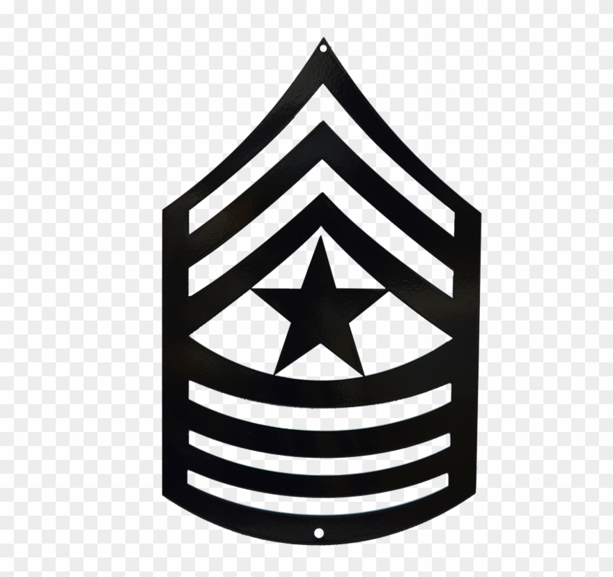Sergeant major clipart clip black and white download Command Sergeant Major Rank Clip Art - Png Download ... clip black and white download