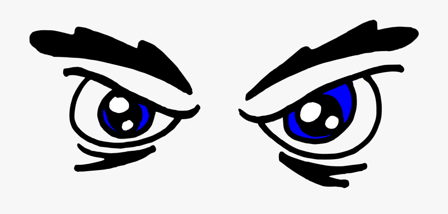 Serious eyes clipart vector black and white download Eyes Black And White Eye Clipart Black And White Free #2437 ... vector black and white download