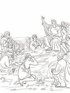 Sermon on the mount clipart jpg freeuse library 42 Best sermon on the mount images in 2014 | Bible lessons ... jpg freeuse library
