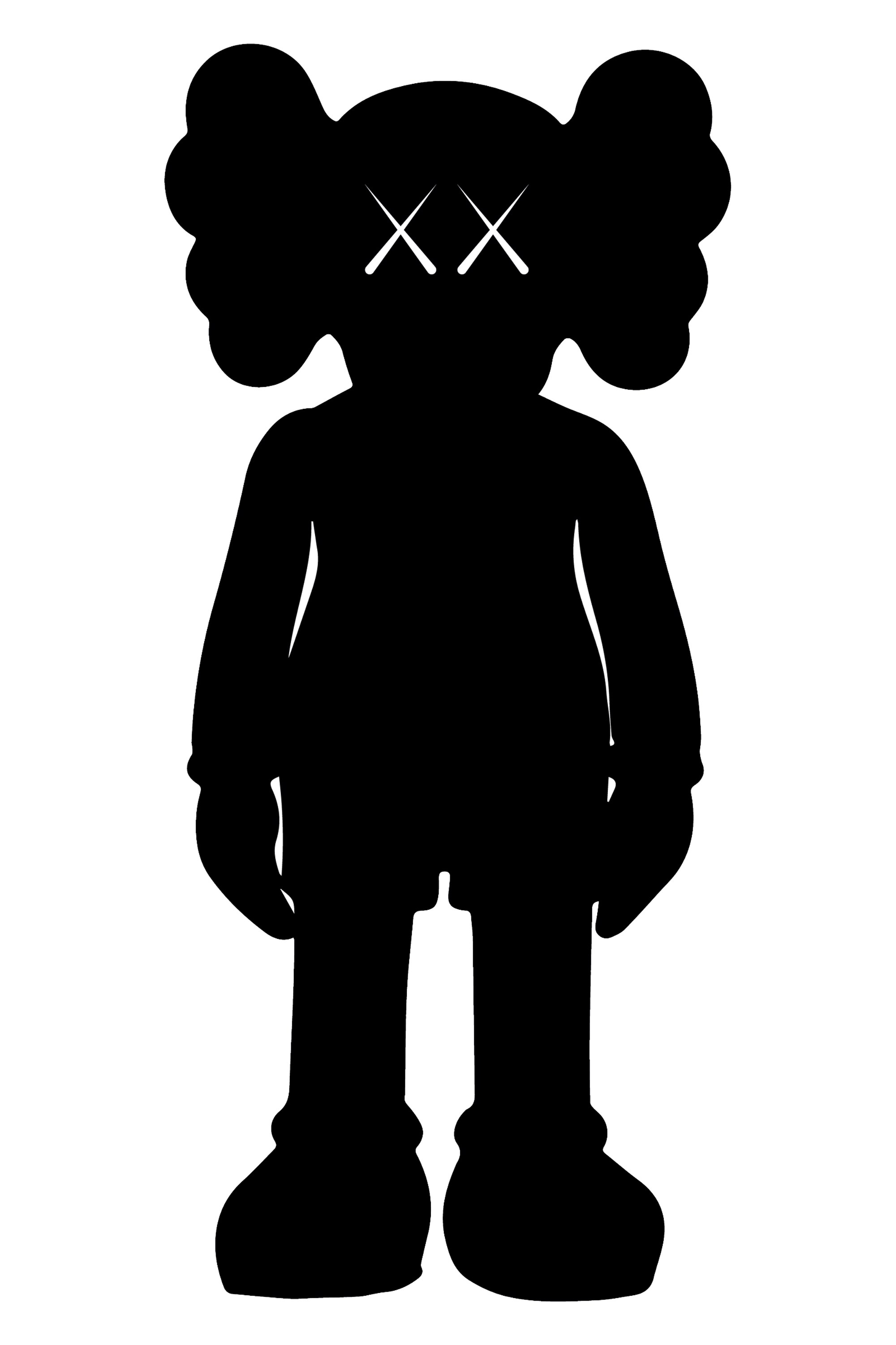 Serpentine goin up clipart black and white png royalty free download Generation XX: How Kaws Short-Circuited the Art World | GQ png royalty free download
