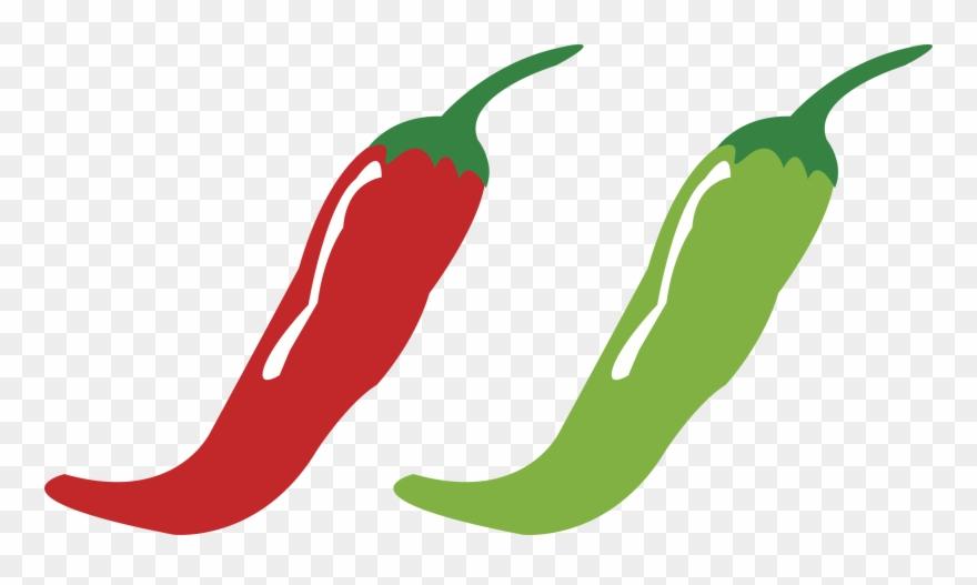 Serrano pepper clipart black and white download Pepper Clipart Serrano Pepper - Chili Pepper Clipart - Png ... black and white download