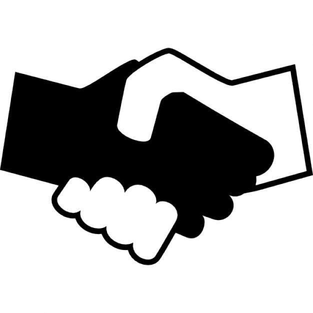 Serrer la main clipart graphic library download Se serrant la main en noir et blanc | Télécharger Icons gratuitement graphic library download
