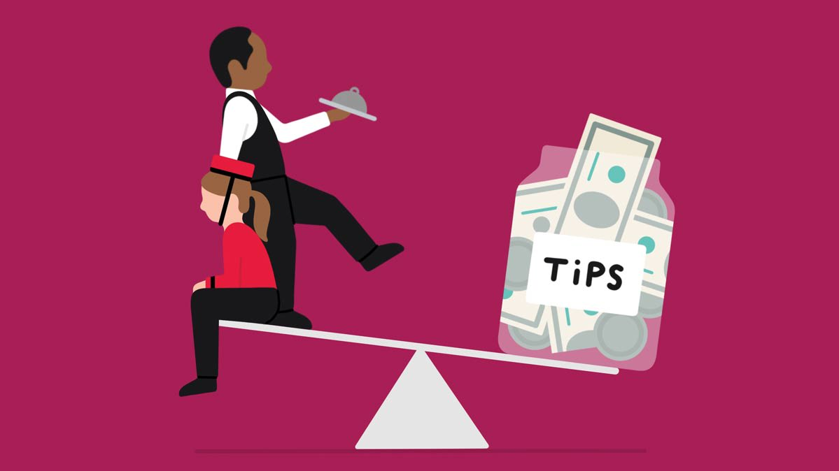 Servers promoting people to take a survey clipart png transparent download Is It Time to Rethink the Rules of Tipping? - Consumer Reports png transparent download