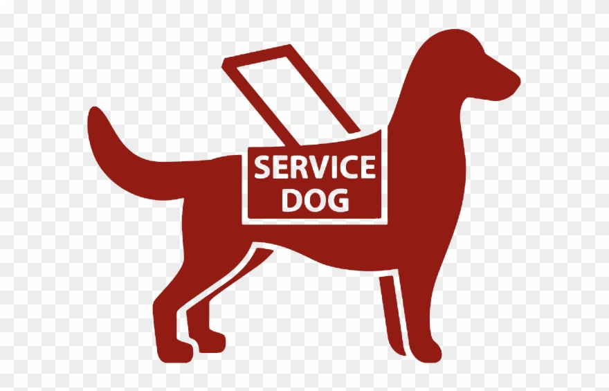 Service animal clipart png black and white Training Service Dogs - Customer Service Clipart (#1529188 ... png black and white