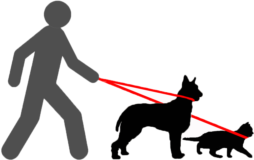 Service animal clipart black and white download Service Animals   Student Resources   Student Disability ... black and white download
