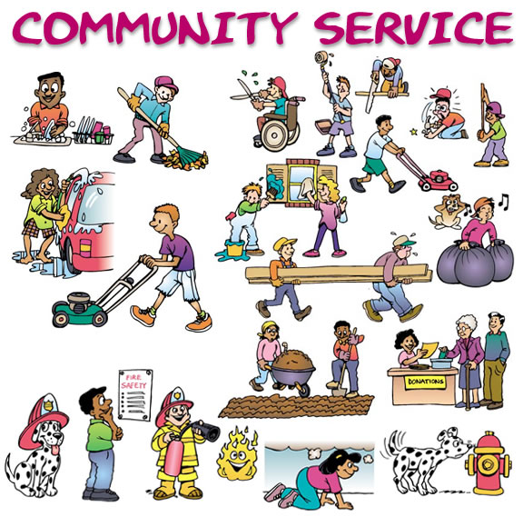 Service clipart image royalty free Community Service Clipart - Clipart Kid image royalty free