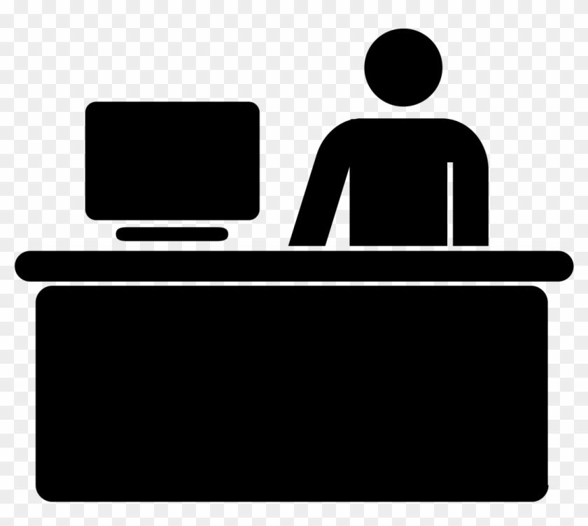Service desk clipart vector transparent stock Desk Vector Art Icon - Customer Service Desk Icon, HD Png ... vector transparent stock