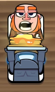 Serving pancakes clipart clip library library Mini-P.E.K.K.A serving pancakes for Giant! : ClashRoyale clip library library