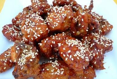 Sesame chicken clipart image freeuse SESAME CHICKEN WINGS — NutriStahl image freeuse