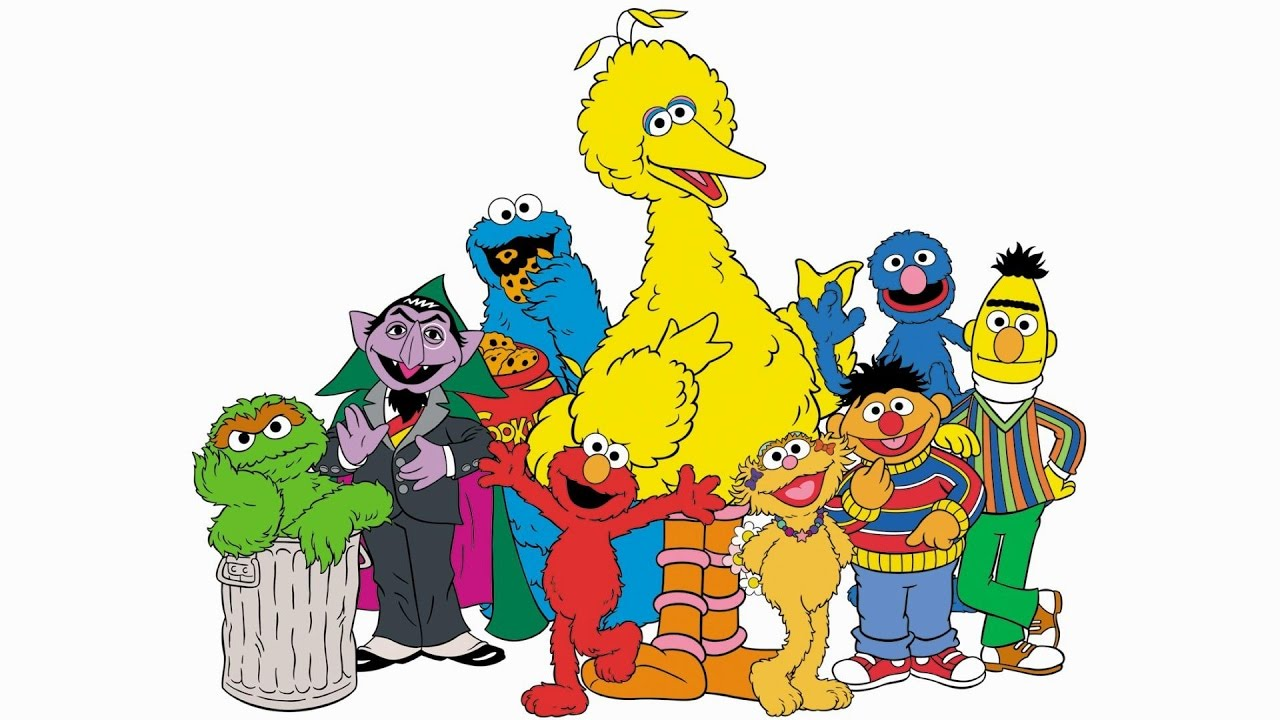 Sesame place clipart jpg black and white stock Big baby goes to Sesame Place part 1: I\'m going to Sesame Place! jpg black and white stock