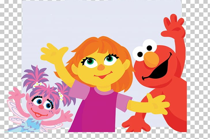 Sesame place clipart graphic royalty free Julia Elmo Abby Cadabby Autism Sesame Place PNG, Clipart ... graphic royalty free