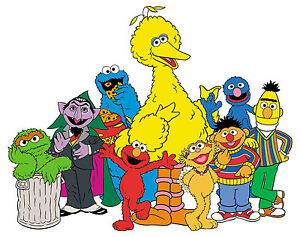 Sesame street border clipart picture freeuse download Details about 6\