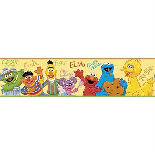 Sesame street clipart border banner royalty free stock Roommates Decor Sesame Street Peel and Stick Border banner royalty free stock