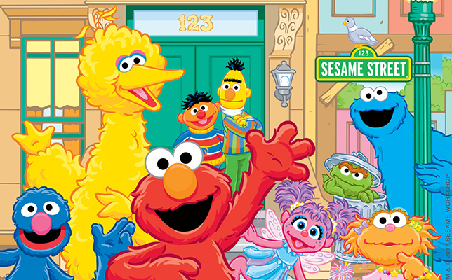 Sesame street group clipart png free stock Sesame Street and WriteReader Partner, Empower Children to ... png free stock