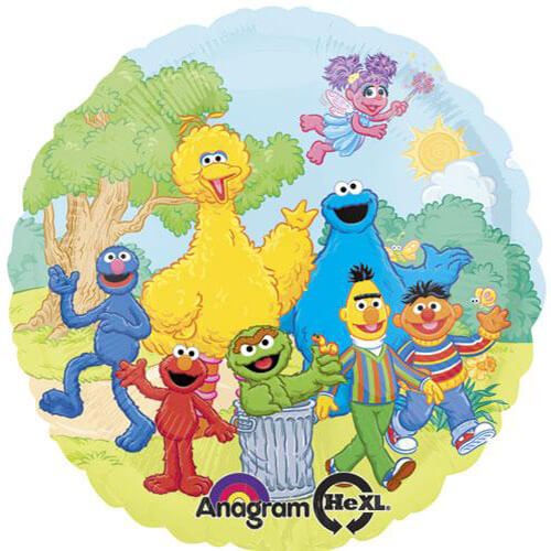 Sesame street group clipart picture royalty free download 18\