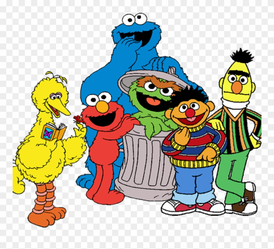 Sesame street group clipart svg transparent library Free Sesame Street Clipart Sesame Street Clipart At - Png ... svg transparent library