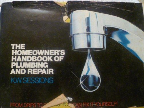 Sessions plumbing black and white library 9780471025504: The Homeowner's Handbook of Plumbing and Repair ... black and white library