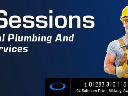 Sessions plumbing vector A B Sessions Plumbing - Google+ vector