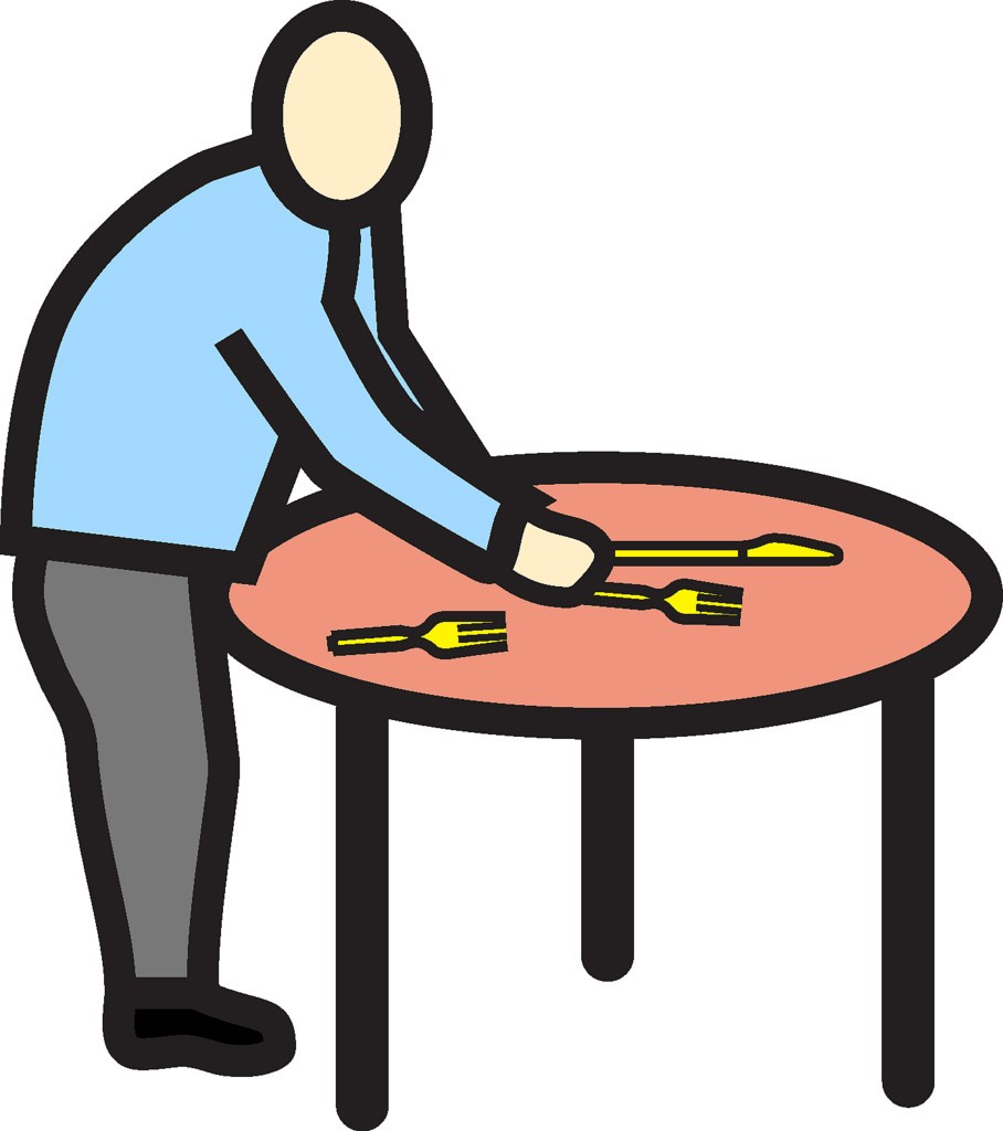 Set clipart image To set the table clipart 3 » Clipart Portal image