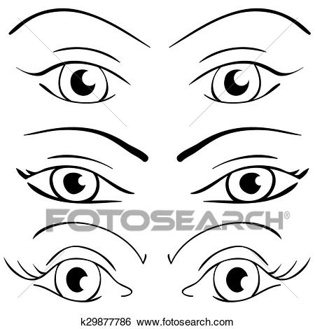 Set of eyes clipart clip art stock Set of eyes clipart 5 » Clipart Station clip art stock