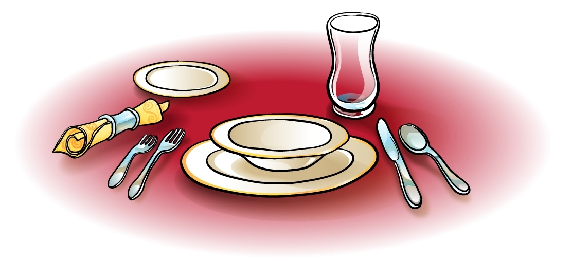Set table clipart png library library Free Dinner Setting Cliparts, Download Free Clip Art, Free ... png library library