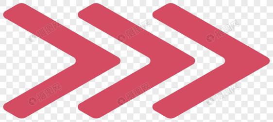 Seta vermelha em clipart image material de vetor de seta vermelha criativa três pilha ... image
