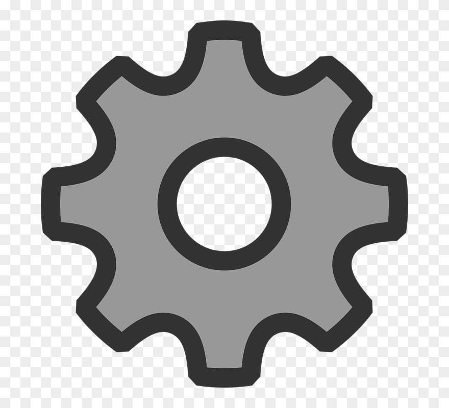 Settings icon clipart