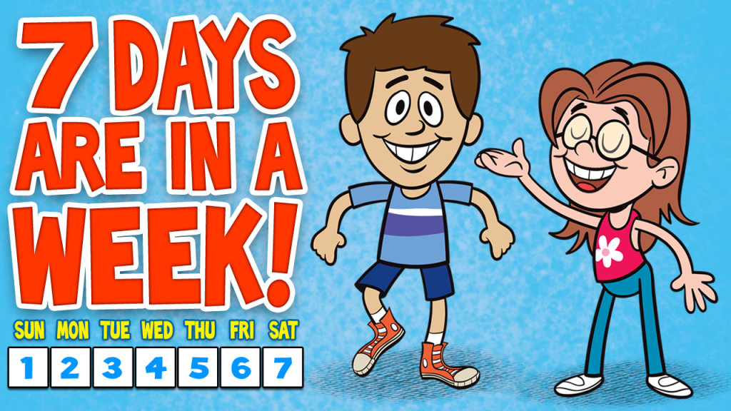 The final week is here clipart images jpg stock Days of the Week Song - 7 Days of the Week with Lyrics - The ... jpg stock